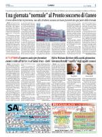 """Una giornata """"normale"""" al Pronto soccorso di Cuneo"""