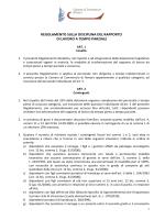 Regolamento part time-def dopo incontro con RSU del 6-3-2014