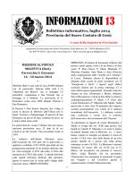 Informazioni n° 13