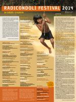 Scarica il giornale del festival 2014