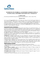 Testo completo del bando [PDF] - Santa Chiara