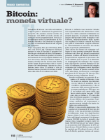 Bitcoin: moneta virtuale?