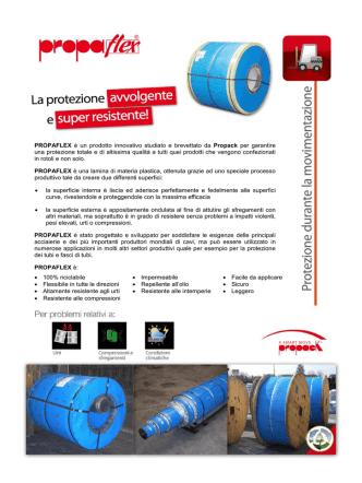 Catalogo PROPAFLEX - Azienda in fiera