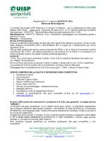 Regolamento VIVICITTA 2014