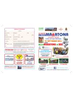 volantino - Mezza Maratona città di San Miniato