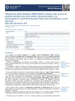 Attuazione della direttiva 2009/158/CE relativa alle norme di polizia