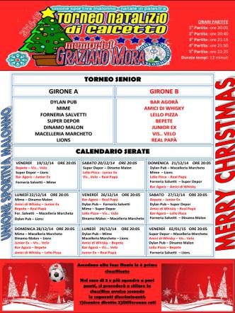 Calendario Senior - Unione Sportiva Malonno