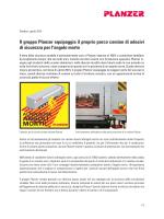 Il gruppo Planzer equipaggia il proprio parco camion di adesivi di