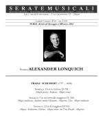 Pianista ALEXANDER LONQUICH