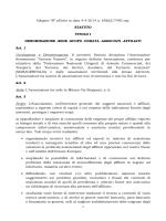 Statuto - Associazione Antonio Pastore