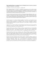 WIND Telecomunicazioni annuncia lancio di un bond