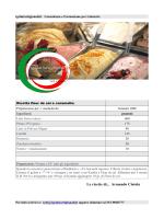 Le ricette di... Armando Ciotola