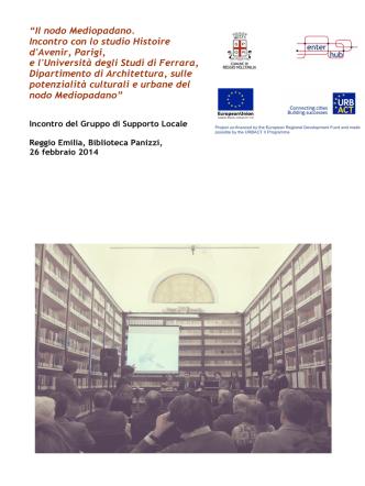 2014_02_26 Verbale ULSG - Comune di Reggio Emilia