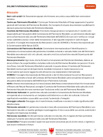 Glossario e materiale informativo