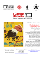 Book The gold rush - Cineteca di Bologna