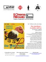 Book The gold rush - Cineteca di Bologna