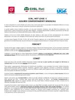 CCNL, WET LEASE E ASSURDI COMPORTAMENTI SINDACALI