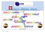 CALENDARIO INVERNALE CAT. B -2015- - Home Page