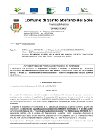AVVISO PROT30622GEN2014MANIFESTAZIONE INTERESSE