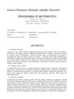 Matematica IV D - Liceo Classico Adolfo Pansini di Napoli