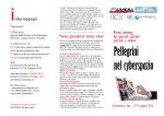 Depliant Meeting Pellegrini nel Cyberspazio