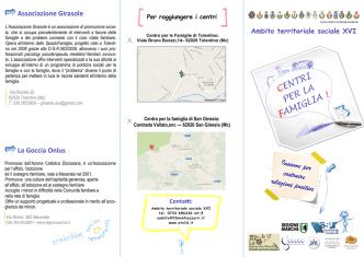 Centri per la famiglia brochure - ATS16 Ambito Territoriale