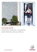 Brochure Schindler 6500