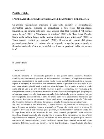 Darra e Mancassola x Le Reti di Dedalus