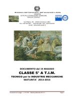 CLASSE 5° A T.I.M.