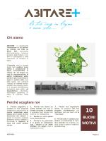 brochure abitare+ srl 2014