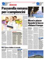 BOCCE BOCCE - Federazione Italiana Bocce