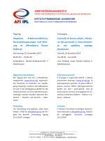 Tagung Atypische Arbeitsverhältnisse, Personaleinsparungen und