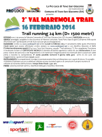 2° Val Maremola TrAIl