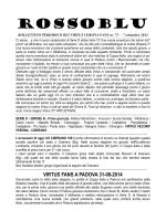 Virtus Verona, Rossoblu 2014 n. 75