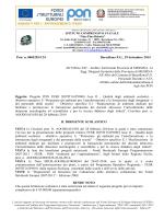 Disseminazione progetto E-1-FESR-2014-1613