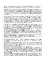 Curriculum - Dipartimento di Scienze della formazione, scienze