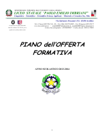 "POF - Liceo Statale ""PE Imbriani"" Avellino"