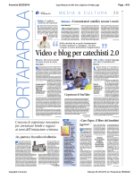 Video e blog per catechisti 2.0