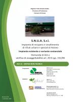 S.N.U.A. S.r.l. - Regione Autonoma Friuli Venezia Giulia