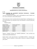 PROVINCIA DI SONDRIO - Comitato di Gestione della Caccia