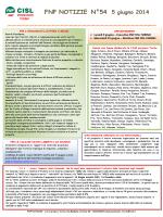FNP Notizie n°54 - FNP CISL Piemonte