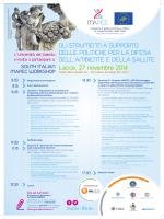 Lecce, 27 novembre 2014 - mapec