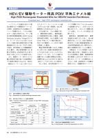 HEV/EV 駆動モーター用高PDIV 平角エナメル線 (PDF: )