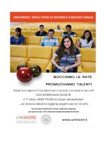 Top Student - Università degli studi di Modena e Reggio Emilia