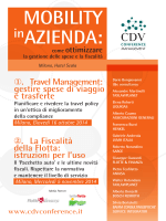 Scarica il programma - CDV Conference Management