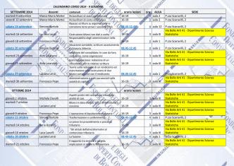 Calendario dettagliato - Fondazione dei Dottori Commercialisti e