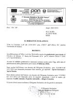 Decreto Pubblicazione Graduatorie Provvisorie di