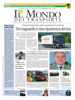 Gennaio/Febbraio 2015 - Il Mondo dei Trasporti