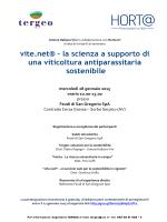 vite.net® - la scienza a supporto di una viticoltura