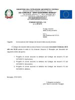 Comunicazione 45 - III Circolo Didattico Statale